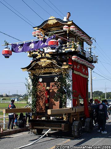 平井八幡宮大祭・百々